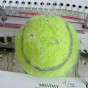 Tennis Ball Smiley