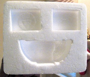 smiley-styrofoam