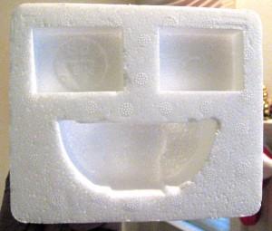 smiley-styrofoam